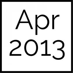 April 2013 Board Documents