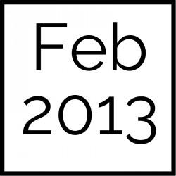 February 2013 Board Documents