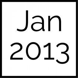 January 2013 Board Documents