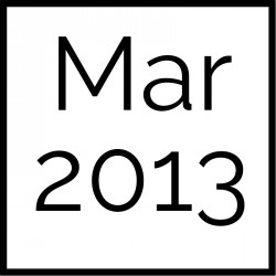 March 2013 Board Documents