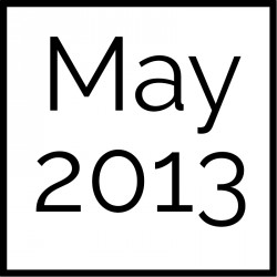May 2013 Board Documents