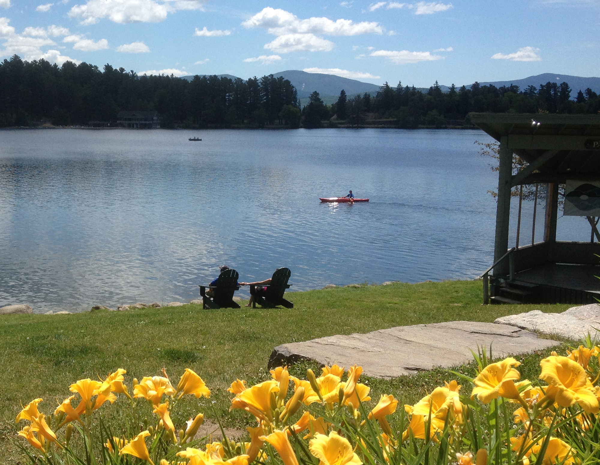 perfect day in Lake Placid