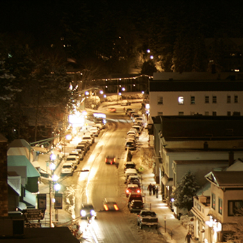 Main Street at Night thumb