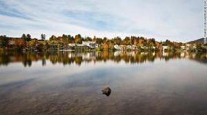Mirror Lake in the fall