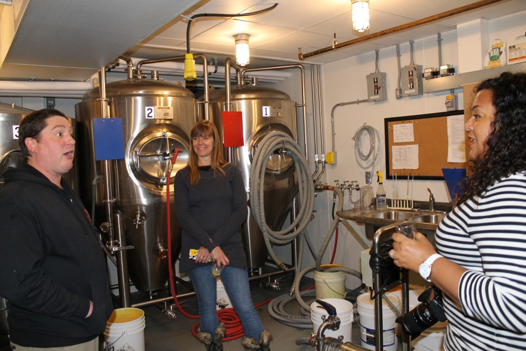 Lake Placid Pub and Brewery Brewmaster Kevin Litchfield answers questions.