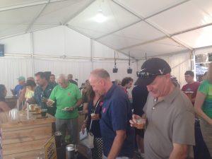 Free food and beer is always popular!