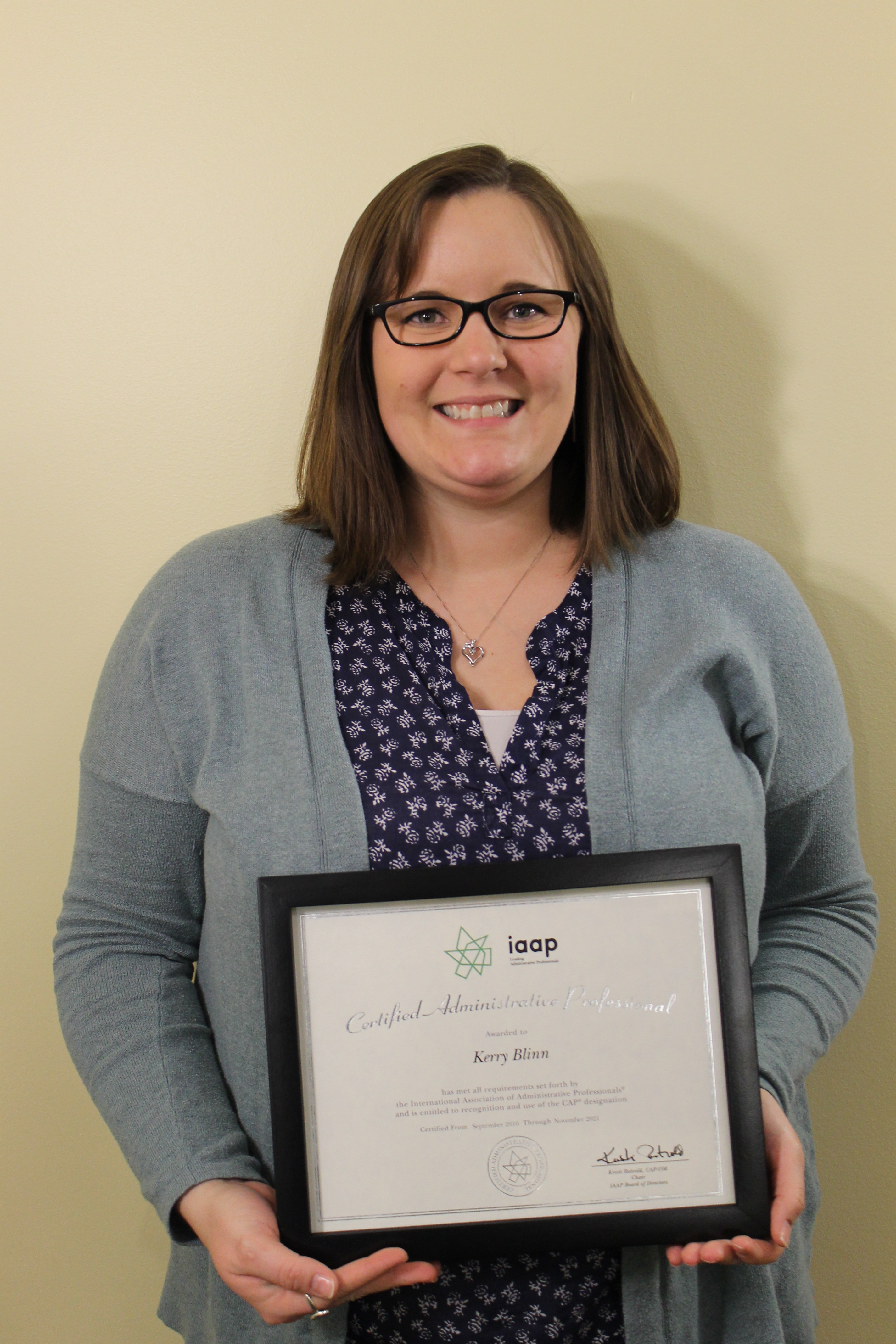 Roost Staffer Earns Certification Regional Office Of Sustainable
