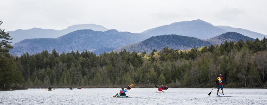 Celebrate Paddling in Saranac Lake, Adirondacks through the
