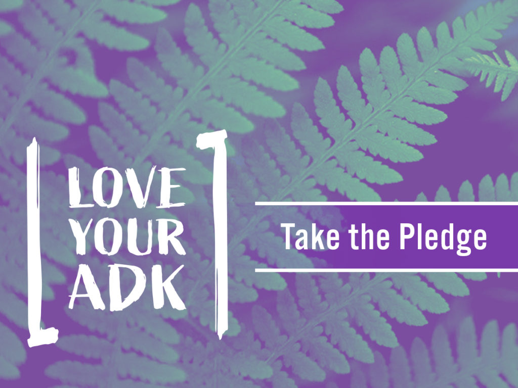 Leave No Trace ADK - Love Your ADK Pledge