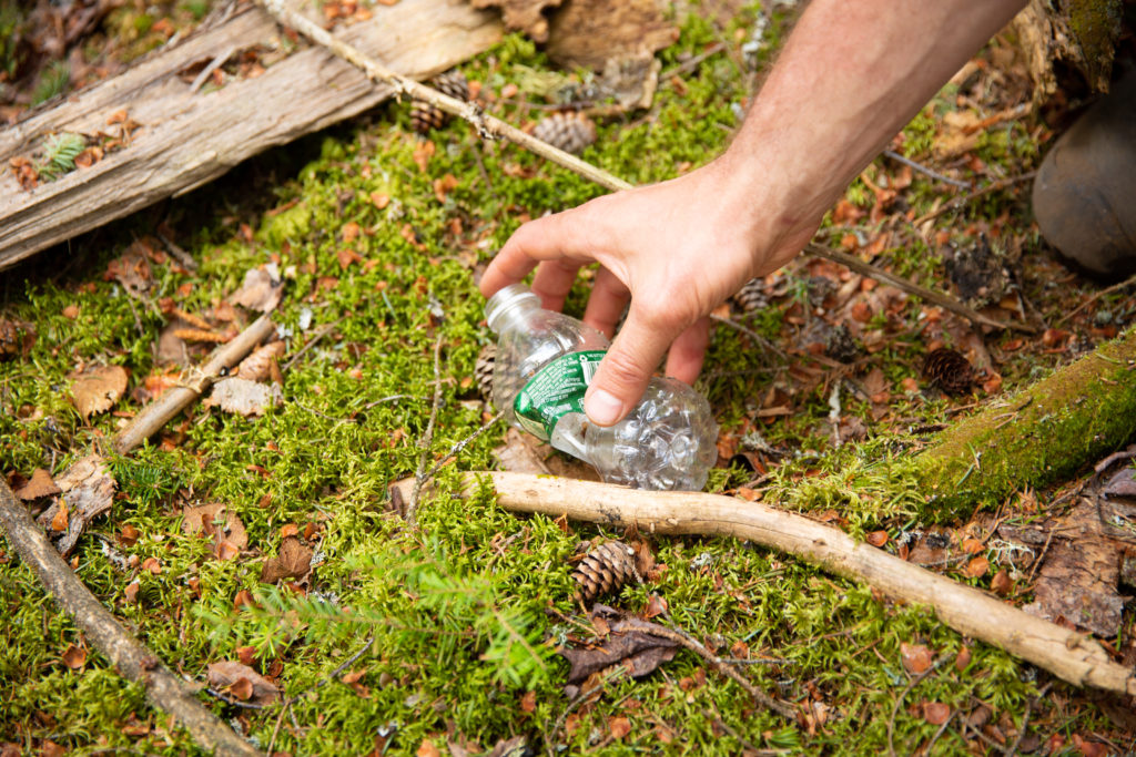 Leave No Trace ADK - Clean Up Your Waste